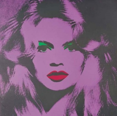 Brigitte Bardot, par Andy Warhol