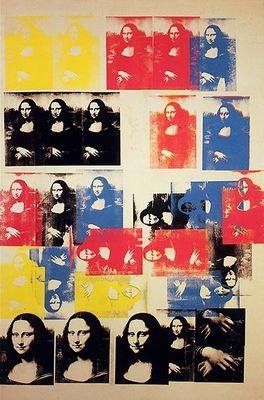 La Joconde, par Andy Warhol