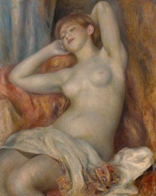La dormeuse, par Auguste Renoir