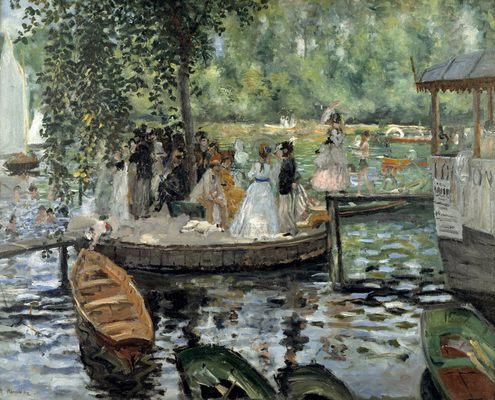 La Grenouillère, par Auguste Renoir