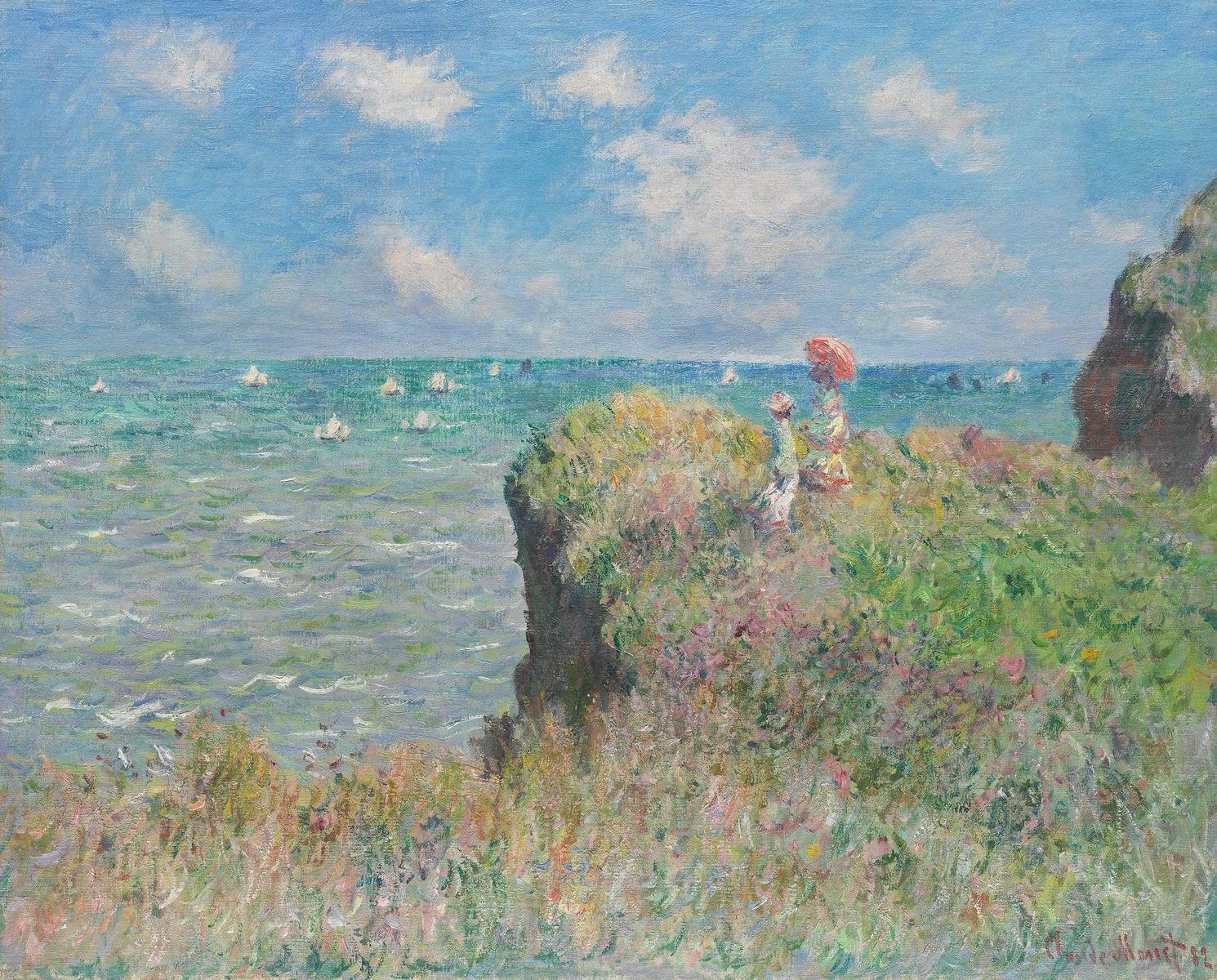 Tableaux de claude monet for Monet paintings images