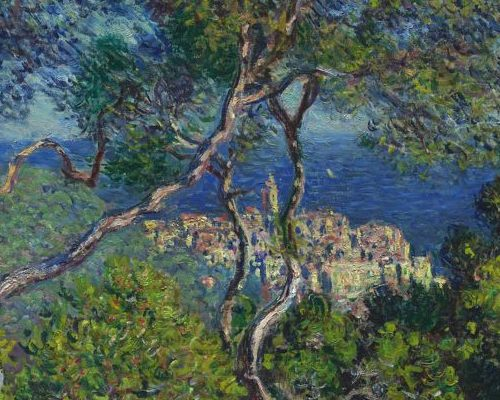 Bordighera, par Claude Monet