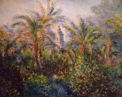 Jardin à Bordighera, par Claude Monet