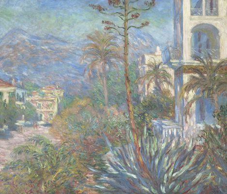 Villas à Bordighera, par Claude Monet