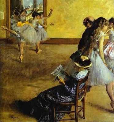 Le cours de danse, par Édgar Degas