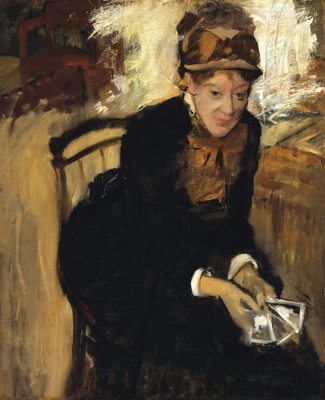 Marry Cassatt, par Édgar Degas