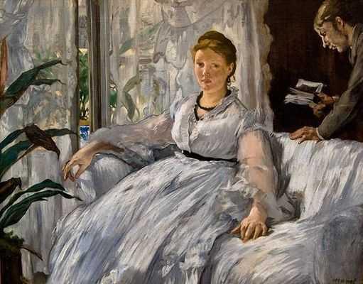 La lecture, par Édouard Manet