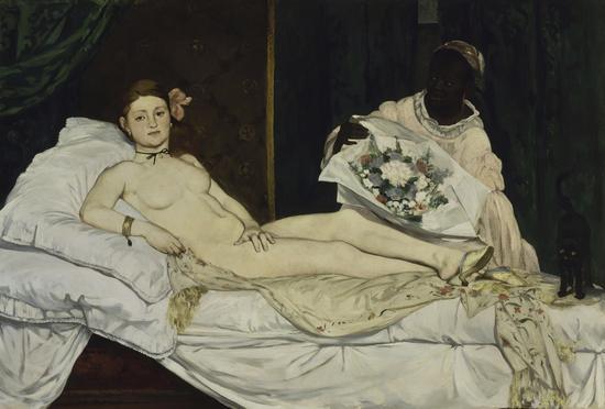 Olympia, par Édouard Manet