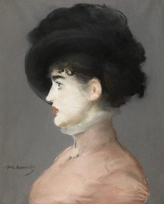 Portrait d'Irma Brunner, par Édouard Manet