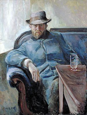 Hans Jaeger, par Edvard Munch