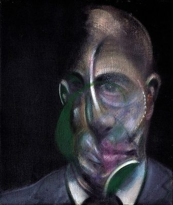 Michel Leiris I, par Francis Bacon