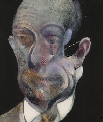 Michel Leiris II, par Francis Bacon