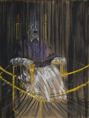 Le Pape Innocent X, par Francis Bacon