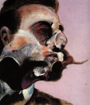 George Dyer I, par Francis Bacon