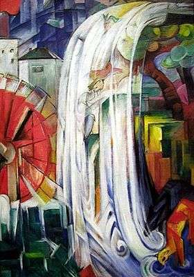 Le moulin enchanté, par Franz Marc