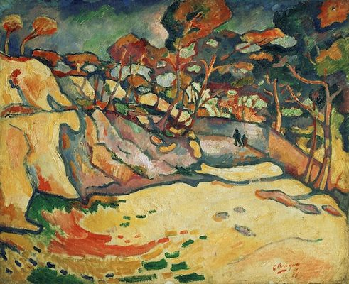 L'Estaque, par Georges Braque
