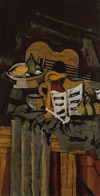 Guitare, par Georges Braque