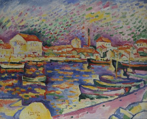 Port de La Ciotat (I), par Georges Braque