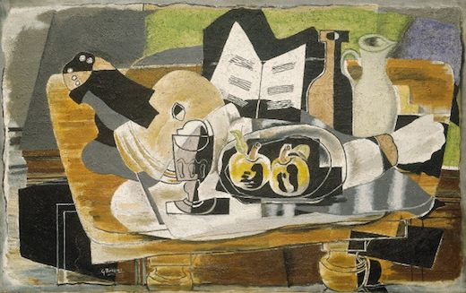 La table, par Georges Braque