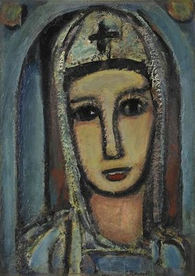 Sainte Véronique, par Georges Rouault