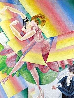 La danseuse rose, par Gino Severini