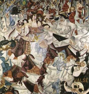 Valse, par Gino Severini