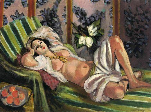 Odalisque avec magnolias, par Henri Matisse