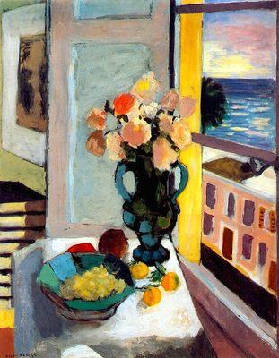Vase de roses, par Henri Matisse