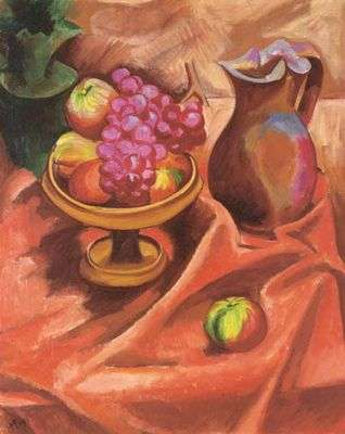 Grappe de raisin, par Hermann Max Pechstein