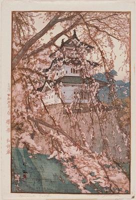 Château Hirosaki, par Hiroshi Yoshida