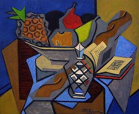peinture cubiste moderne
