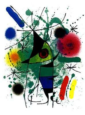 Le chant du poisson, par Joan Miro