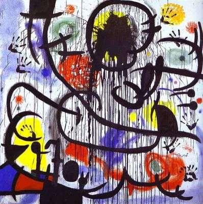 Mai 68, par Joan Miro