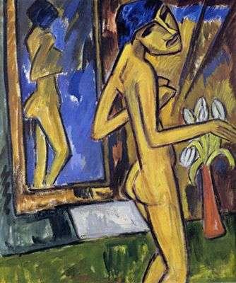 karl-schmidt-rottluff-jeune-femme-au-miroir