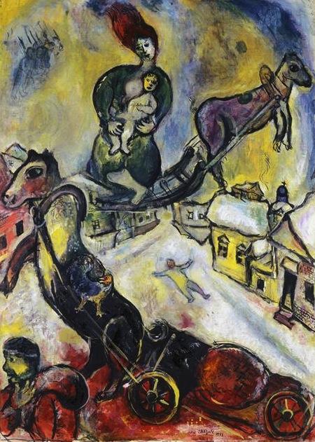 De guerre marc biography for Biographie de marc chagall