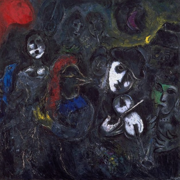Tableaux de Marc Chagall Chagall Museum Nice