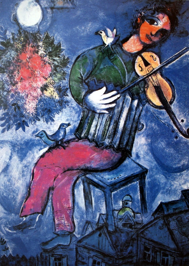 Gallery of la mariee marc chagall