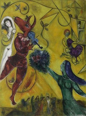 La danse I, par Marc Chagall