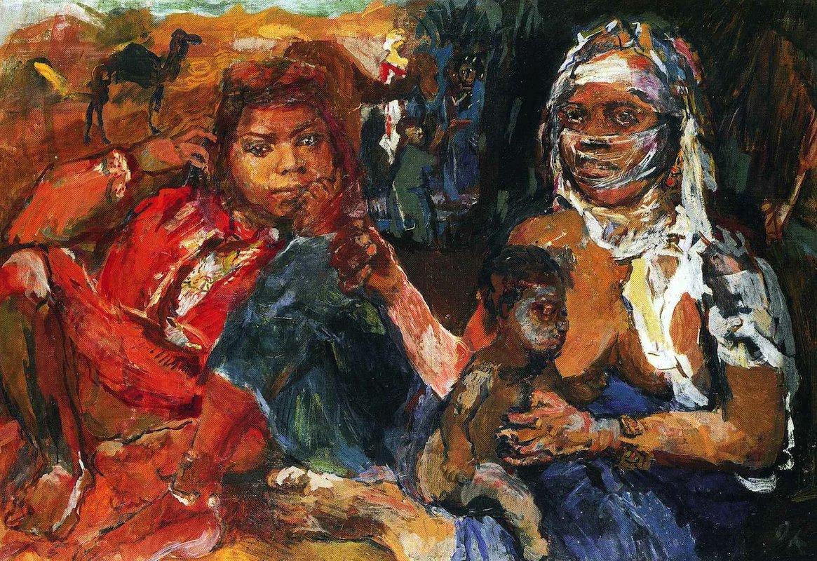 tableau africain celebre