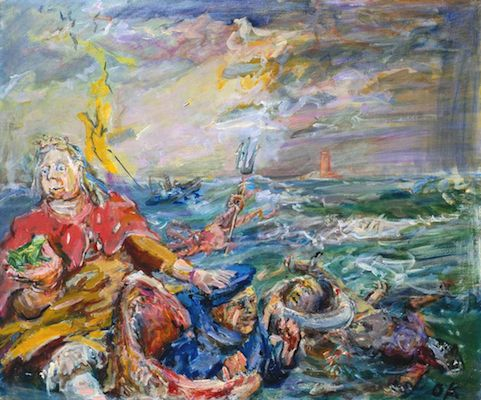 Loreley, par Oskar Kokoschka