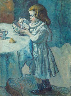 Le gourmet, par Pablo Picasso