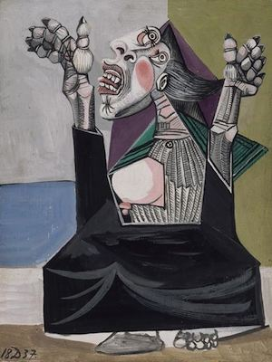 La suppliante, par Pablo Picasso