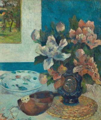 Nature morte à la Mandoline, par Paul Gauguin
