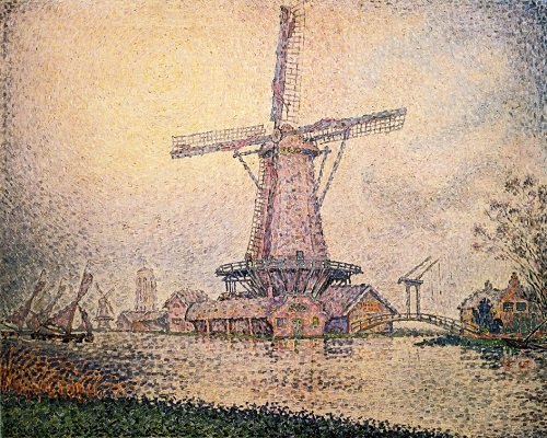 Moulin à Edam, par Paul Signac