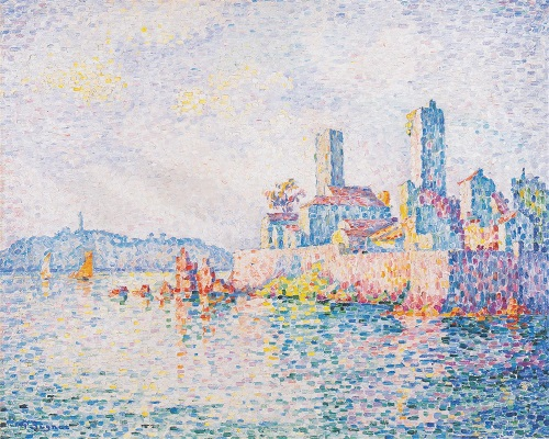 Les Tours d'Antibes, par Paul Signac