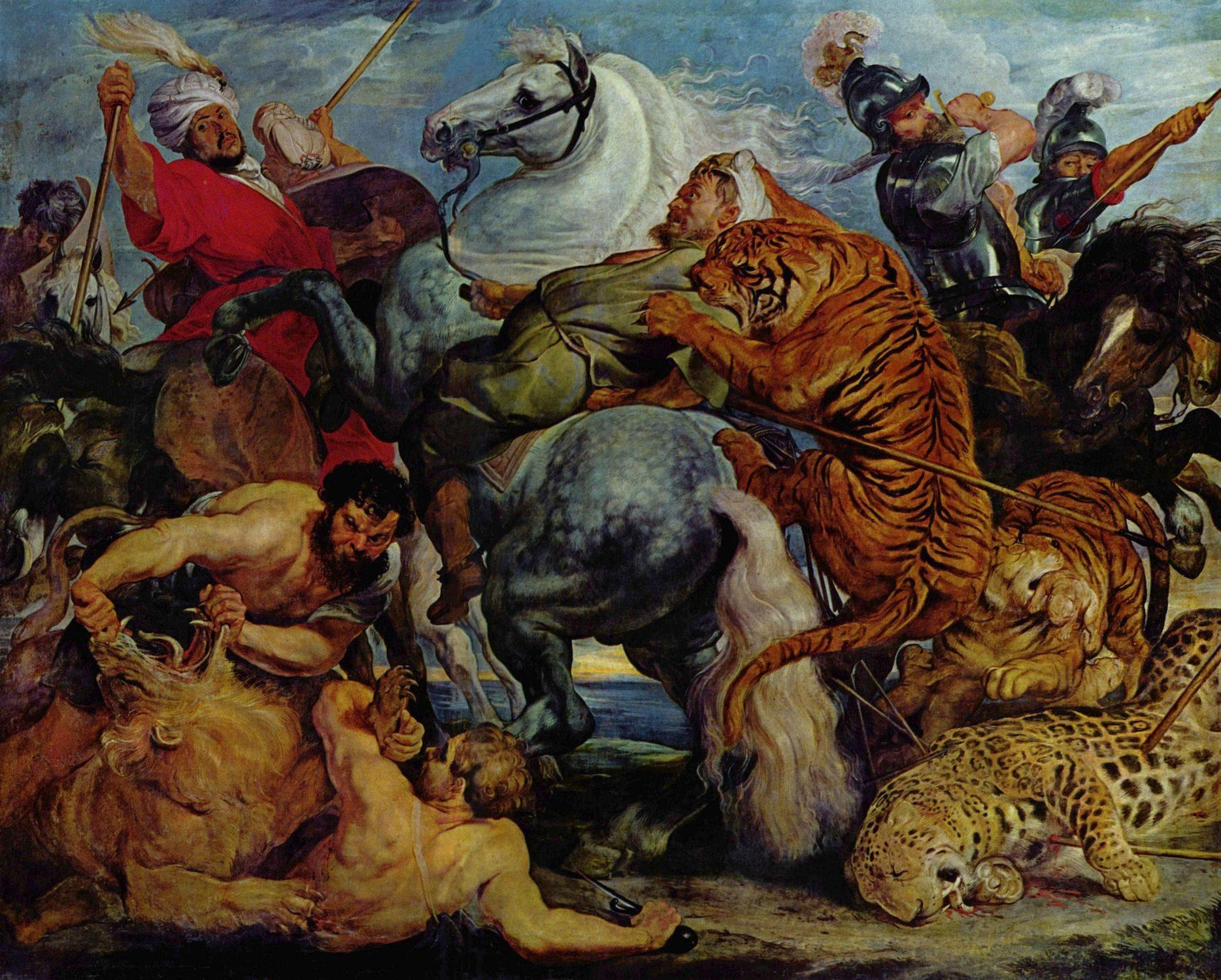 http://www.eternels-eclairs.fr/images/peinture/tableaux/peter-paul-rubens-HD/peter-paul-rubens-chasse-au-tigre-au-lion-et-au-leopard.jpg