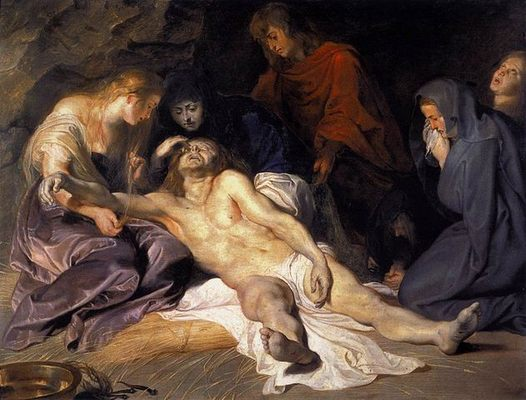 La Lamentation, par Peter-Paul Rubens