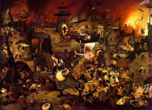 Margot la folle, par Pieter Bruegel