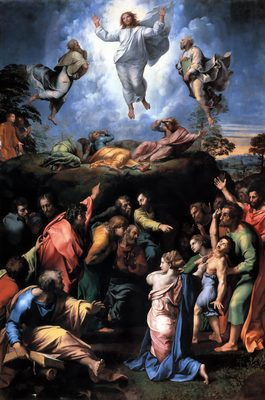 Transfiguration, par Raphaël