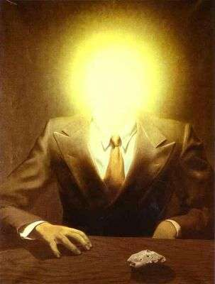 Portrait d'Edward James, par René Magritte